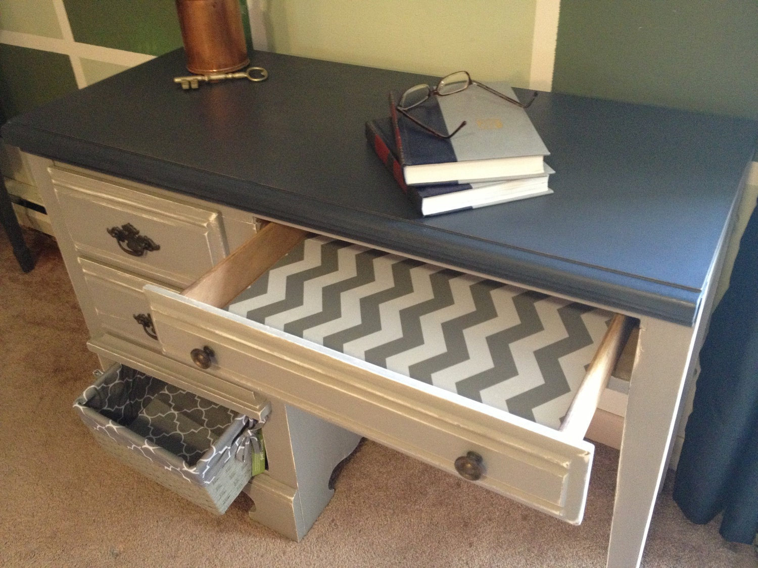 Small Painted Distressed Desk. Modern Desk Lamp. Old Fashioned Desk Chair. Chrome Table Base. Storage Chest With Basket Drawers. Sit Stand Desks. Boys Desk. Black And Gold End Table. Billiard Tables