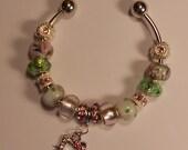 Hello Kitty Bangle Bracelet