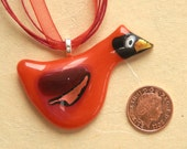 Cheeky Bird Pendant: Cardinal - Mascot of the University of Louisville