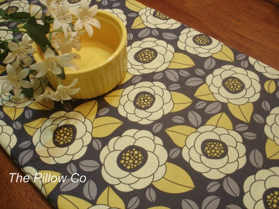 "Yellow Table Runner  13"" X 72"""