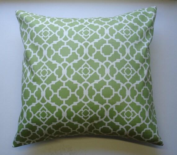 Waverly Decorative Throw Pillows : Decorative Throw Pillows Waverly Green Pillow Cover 18