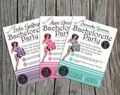 Printable Pinup Bachelorette Party Invitation