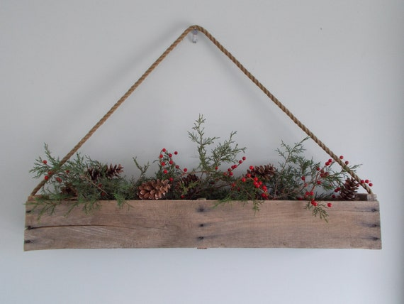 Hanging Pallet Herb Box, Hanging Pallet Toolbox