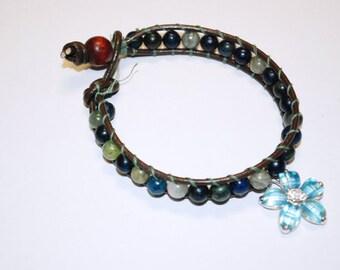 Da Flowered bracelet