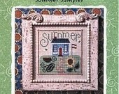Lizzie Kate Summer Sampler Snippet S25 Counted Cross Stitch Pattern