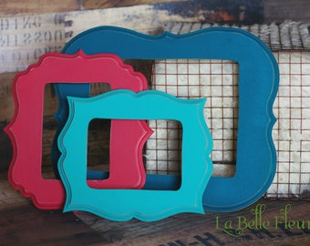 16x20 Whimsical Painted Picture Frame