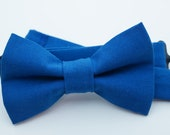 Bow Tie - Royal Blue Bowtie