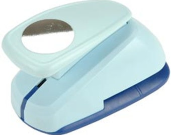 2 in or 5 cm CIRCLE Super Jumbo Clever Lever Paper Punch by Marvy Uchida