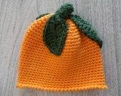 "Grandma""s Little Pumpkin hat 0-3 mons."