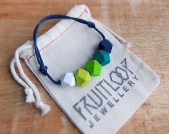 Green With Envy adjustable bracelet