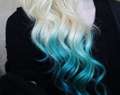 At Home Dyed Hair - Temporary Hair Color - Dip Dye, PICK ANY COLOR