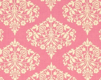 "Park Fountains in Fuchsia Pink - 31"" Remnant - Amy Butler Fabric - Midwest Modern Collection"