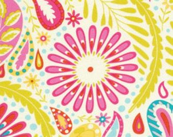 Sanjay Fabric in Pink  - Kumari Garden collection by Deena Designs