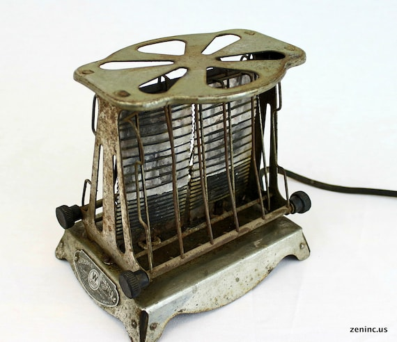 Antique Electric Toasters ~ Rare antique s westinghouse turnover toaster