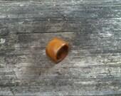Lignum Vitae Ring Size 5.5 (E)