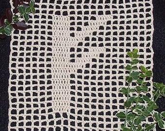 PDF Filet Crochet Pattern Instant Download - Complete Set of 24 Runes