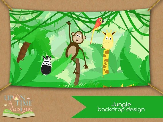 items similar to instant download printable jungle