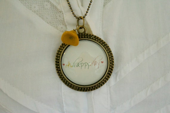 Oh happy Day Necklace