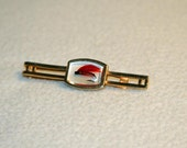 Anson Tie Clasp with a red fishing fly