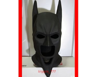 Halloween mask, Halloween costume & Cosplay mask, Movie Prop, Halloween decor Sideshow Cowl Suit Batman mask The Dark Knight Rises LA02