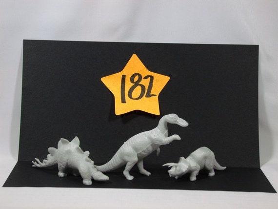 1960' s Marx Playset Dinosaurs