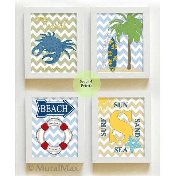 Nursery decor beach decor beach art surfer boy beach art for Surf nursery ideas