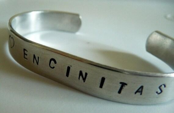 I Heart Encinitas Cuff Bracelet Love
