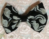 Hair bow-Kangaroo pattern hair clip