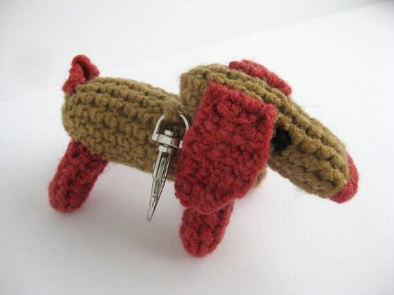 Dachshund, Doxie, Dog,  Keyring, key ring, Handbag charm, New home Gift, Birthday Gift