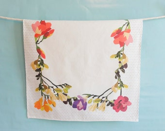 Freesia Kitchen / Dish / Tea Towel