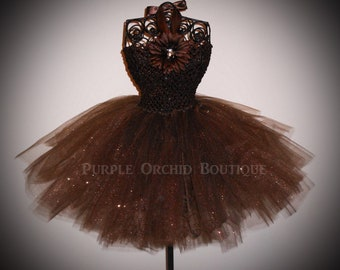 Brown Tutu Dress