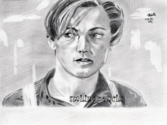 Titanic Pencil Drawings Leonardo di Caprio Titanic