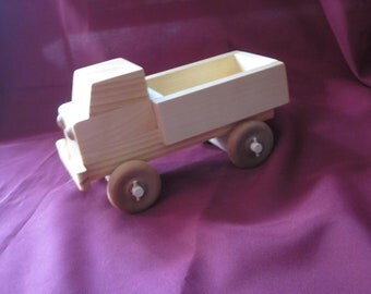 Wooden Pickup Truck