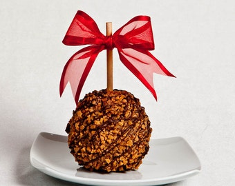 Toffee Crunch Caramel Apple