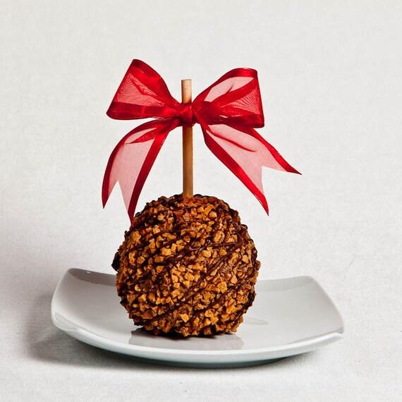 Toffee Crunch Caramel Apple