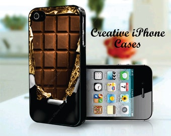 iPhone 5 case Chocolate Candy Bar - iphone 4/4S, iPhone 5/5S, or the iPhone 5C