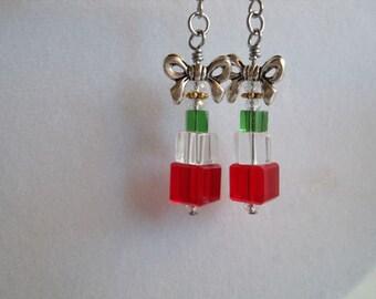 Crystal Present Stack Earrings