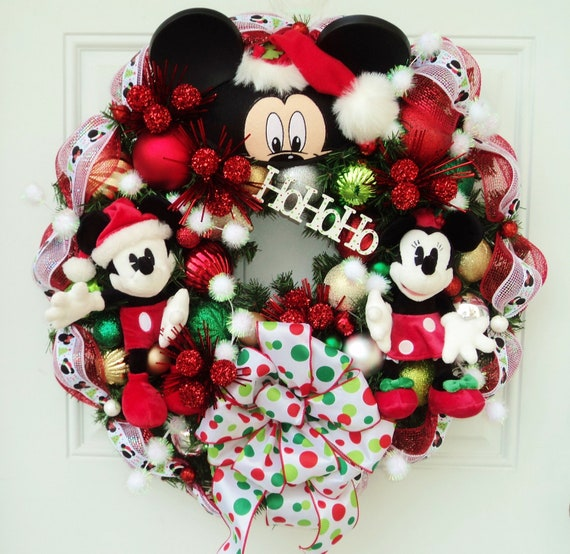 Unavailable listing on etsy for Adornos navidenos mickey mouse