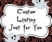 Custom Listing Reserved for Ysela (ysela77)