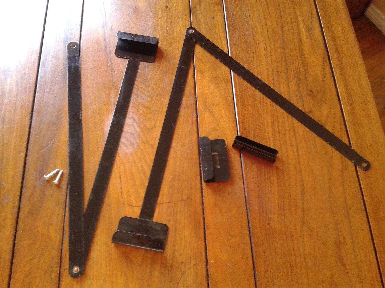 Japanese Byobu Folding Screen Picture Hanger Metal