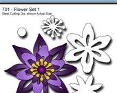 Elizabeth Craft Designs Die 701-Flower Set 1