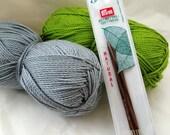 Original Prym Knit pro NATURAL Rundstricknadelspitzen zum wechseln 4,00 mm