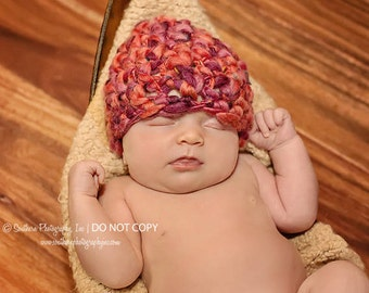 Newborn Photo Prop Hat Photography Props Baby Hat Props for Newborn Photography Baby Picture Props Baby Prop Baby Photography Props Soft Red