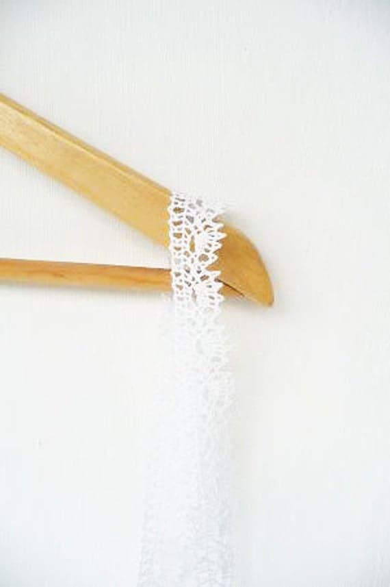 White Linen Lace Trim, linen sewing ending, spring wedding decoration