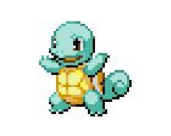 Squirtle Cross-Stitch Pattern
