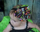 Baby halloween headband  - baby - children's - girls - seasonal