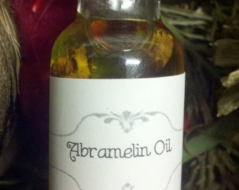 Abramelin Oil, Voodoo, Hoodoo, Conjure, Holy Oil, Anointing, Sacred, Ritual, Pagan, Wiccan