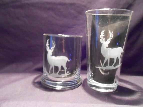 set of 4 sandblasted drinking glasses rock size 12 oz. Black Bedroom Furniture Sets. Home Design Ideas