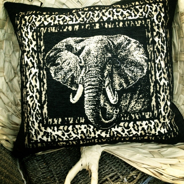 Man Cave Urban Jungle : For dadfor the man cave striking handmade pillow jungle