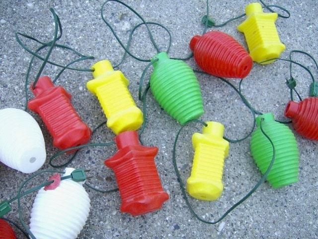 Vintage Camper Lights Rv Blow Mold Japanese Lantern 2 Strings